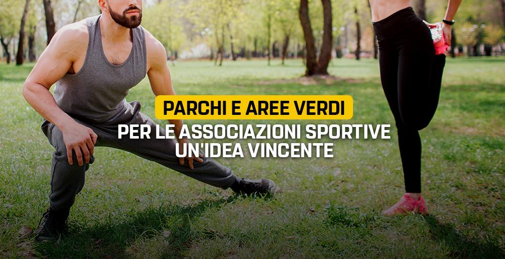 Parchi E Aree Verdi Per Le Associazioni Sportive Un Idea Vincente Il Blog Delle Stelle
