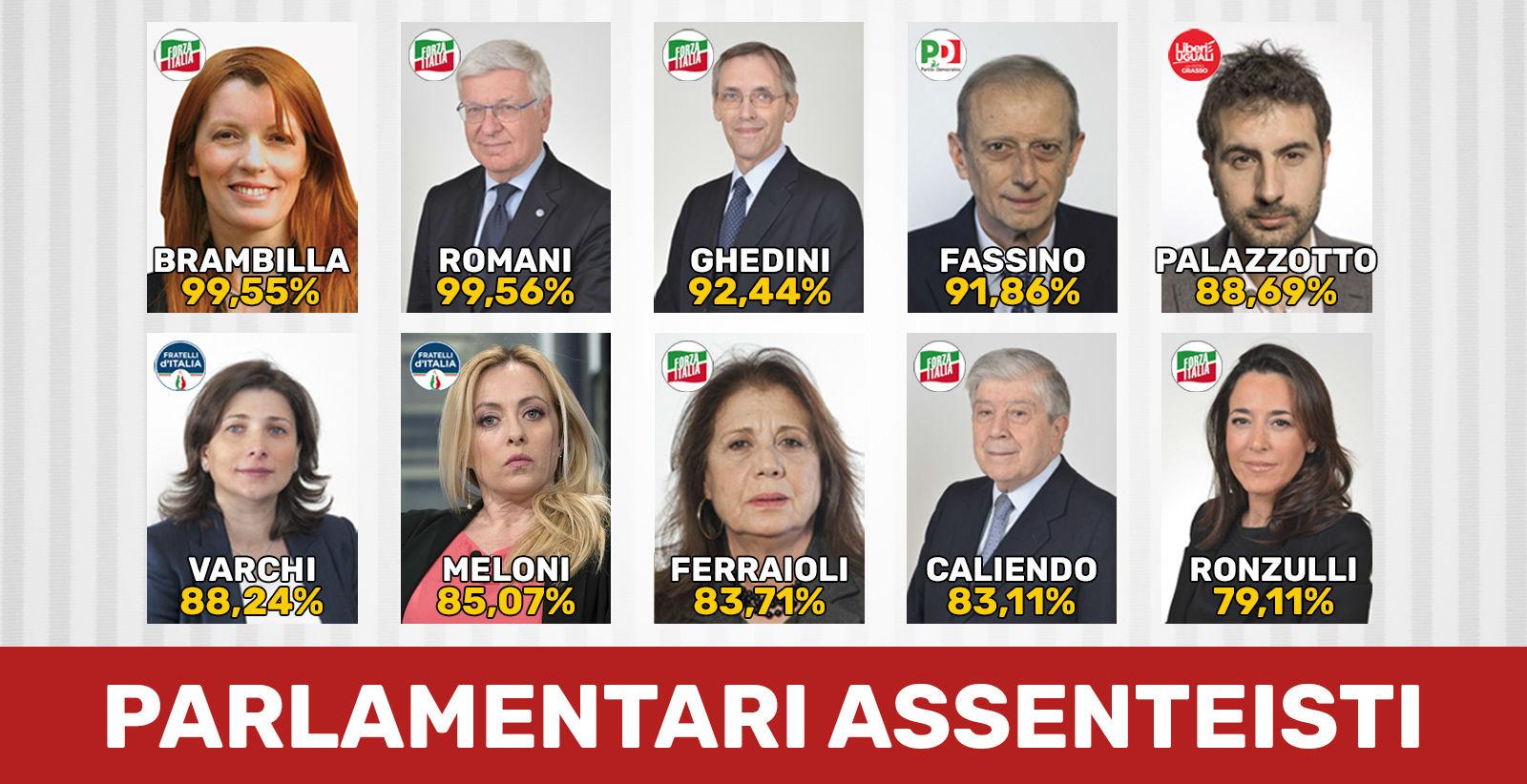Adesso anche i partiti puniscano i parlamentari for Deputati 5 stelle elenco