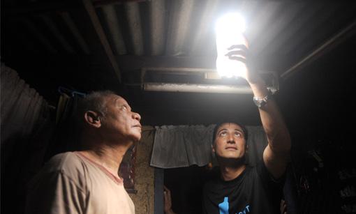 La lampadina dei poveri il delle stelle