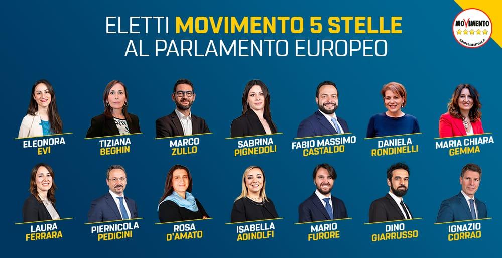 i 14 eletti del m5s al parlamento europeo il blog delle