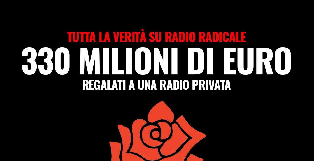 Radio radicale e quei numeri che raccontano un ingiustizia for Radio radicale in diretta