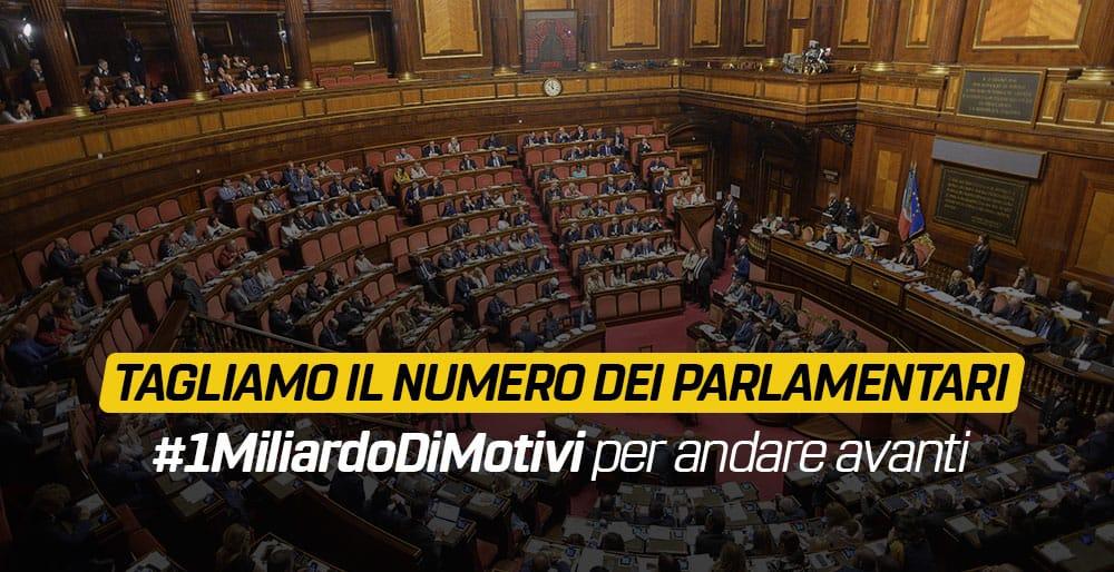 1miliardodimotivi per tagliare il numero dei parlamentari for Parlamentari numero