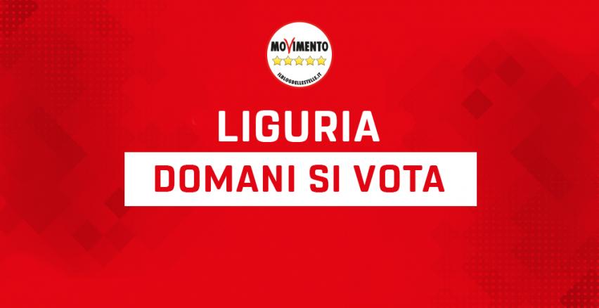 Liguria, domani si vota Il Blog delle Stelle