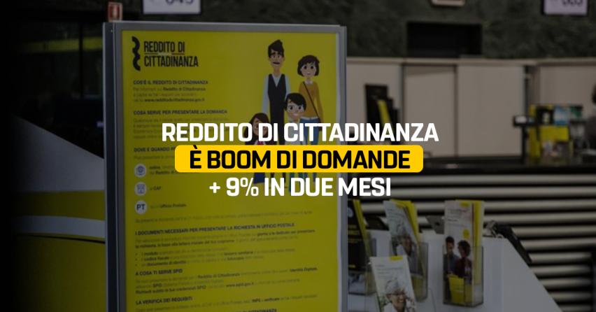 Reddito Di Cittadinanza E Boom Di Domande 9 In Due Mesi Il Blog Delle Stelle