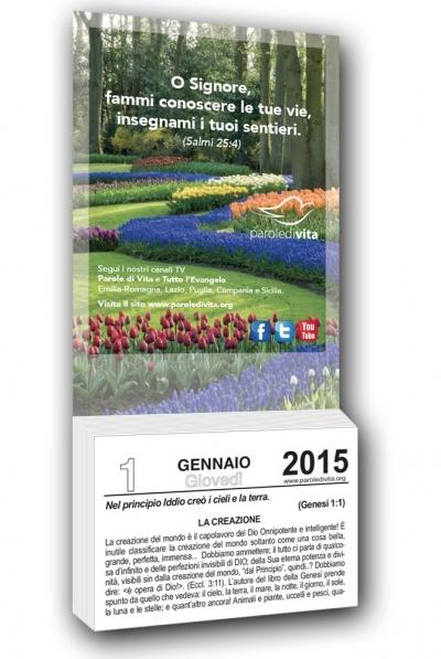 Calendario Per La Vita.Calendario Parole Di Vita 2015