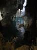 In een grot...