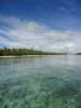 Het heldere water bij Blue Lagoon