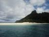 Het strand van het eiland Castaway (van de gelijknamige film met Tom Hanks)