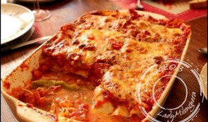 Lasagnes au saumon et aux asperges