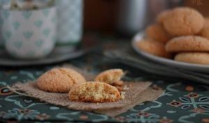 Harcha au four … ou Petits Biscuits à la Semoule