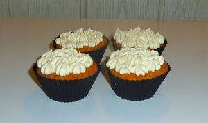 Cupcakes au citron et au chocolat blanc