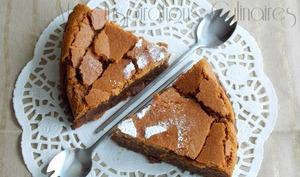 Gâteau au chocolat et caramel beurre salé