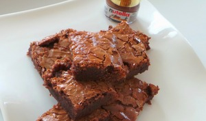 Brownies Nutella et noix de pecan