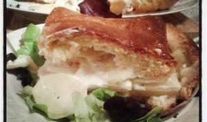 le pâté Limousin de pommes de terre à la crème en pâte briochée