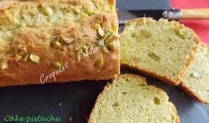 Cake pistache sans gluten