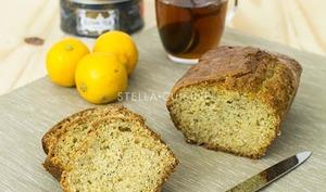 Cake au citron bergamote et pavot