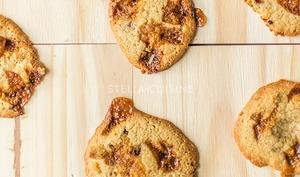 Cookies au caramel de Christophe Adam