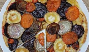 «Tarte Tatin » aux légumes-racines
