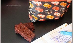 Flapjacks chocolat noir et noix de pécan