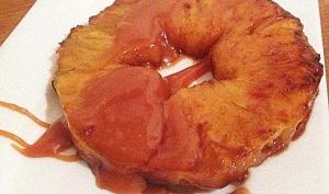 Ananas rôti aux quatre épices
