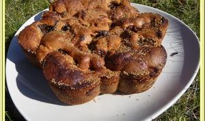 Gâteau doré aux mirabelles