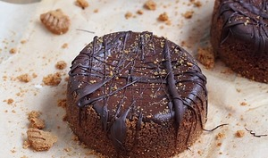 Mini Cheesecake spéculoos potiron et chocolat