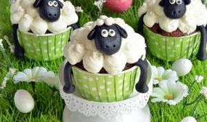 Cupcakes Shaun le mouton