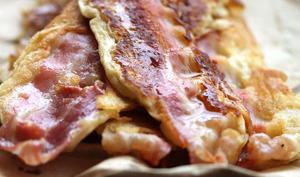 Pancakes bacon au sirop de Yacon