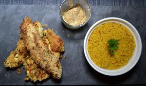 Piccata de poulet mariné au citron vert et au piment d'Espelette