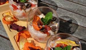 Ceviche de rouget au St-Morêt