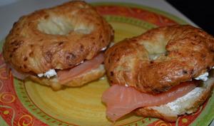Les bagels au saumon d'Howard