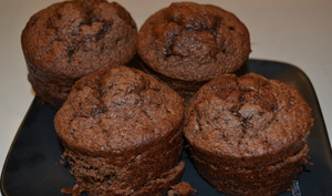 Les muffins au chocolat d'Izzie