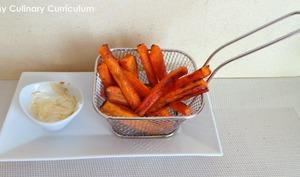 Frites de carottes au cumin et au four