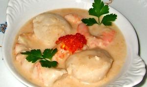 Cassolettes de fruits de mer