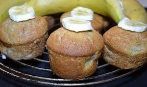 Muffins banane-noix