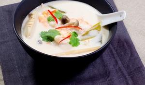 Tom Kha Kai aux crevettes