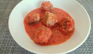 Boulettes de viande hachée de porc à la provençale
