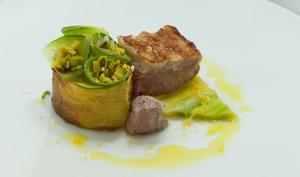 Selle d'agneau de Sisteron au citron de Menton