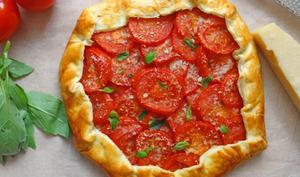 Galette de tomates fraîches de Roger Mooking
