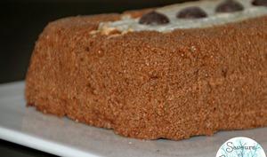 Gâteau Mousse au Chocolat et Dacquoise