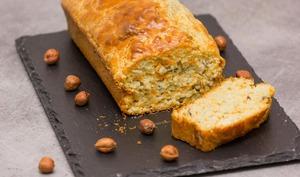 Cake aux carottes, cumin et noisettes