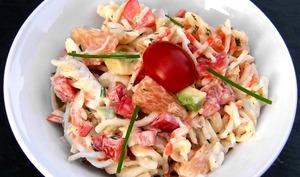 Salade de torsades au surimi