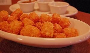 Tater tots, délicieuses croquettes de pomme de terre frites