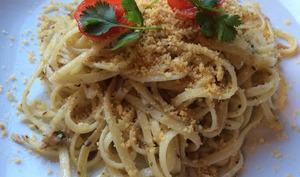 Spaghetti aux sardines