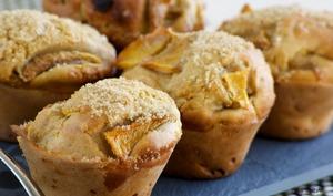 Des muffins à la mangue
