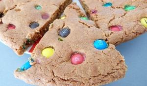 Cookies géant aux M&M's