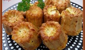Cakes aux Saint-Jacques et Safran