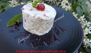 Nougat glacé aux fruits secs
