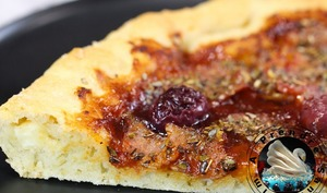 Pizza cheezy crust BBQ