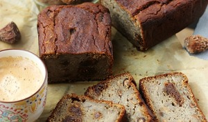Cake pudding noisettes et figues